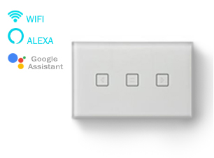 Wi-Fi Smart Curtain Touch Switch: SL-AGC01