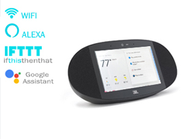 JBL legendary sound in a Smart Display  with the Google Assistant