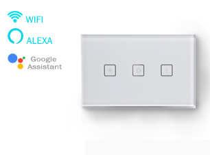 Wi-Fi Smart Dimmer Touch Switch: SL-AGD01; 1 gang